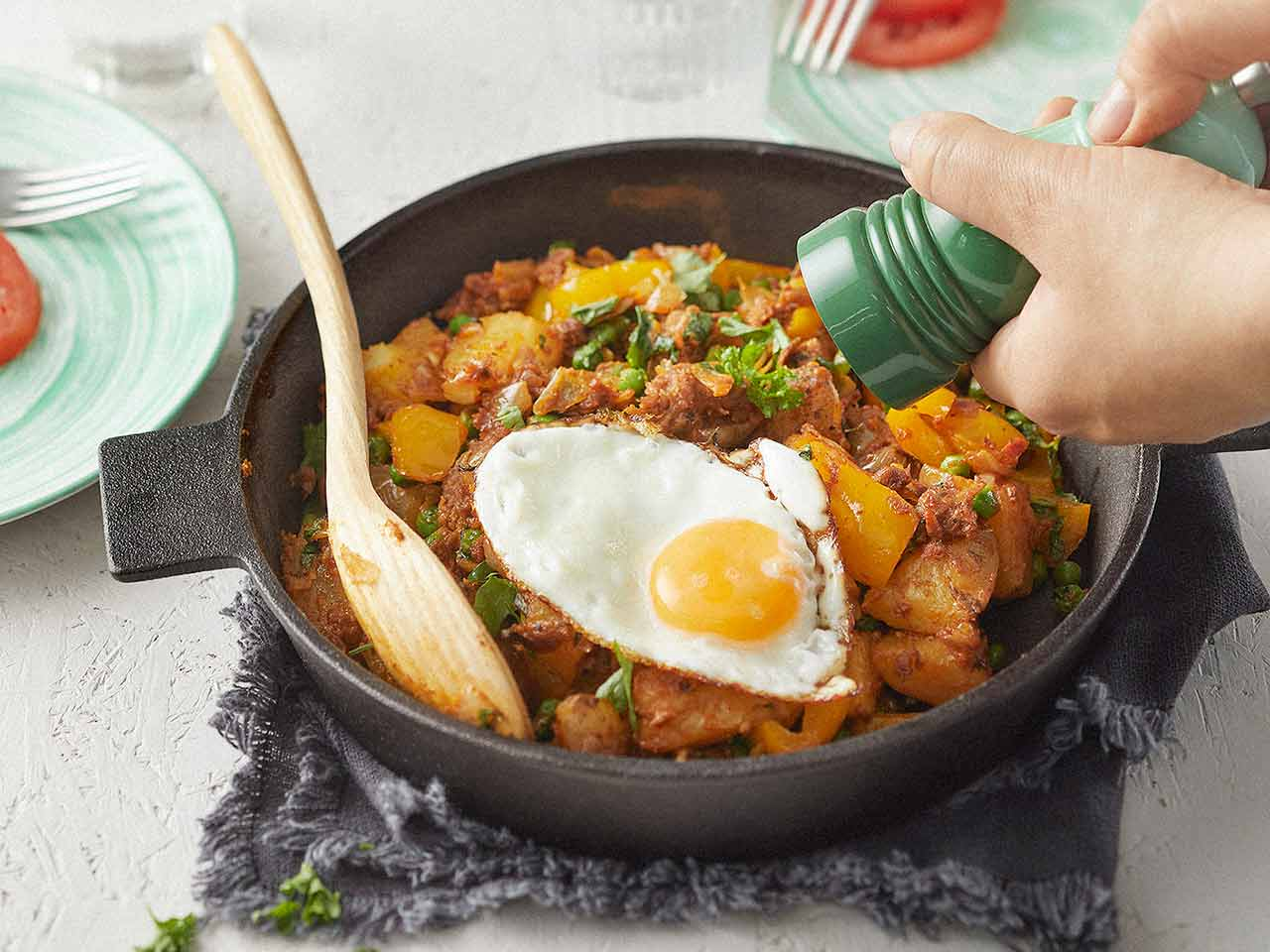 Pulled Oats Hash